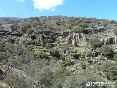 Pico Rocigalgo - Cascada del Chorro [Parque Nacional de Cabañeros] rutas de senderismo por madrid